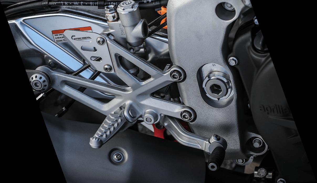 Chasis de aluminio para moto