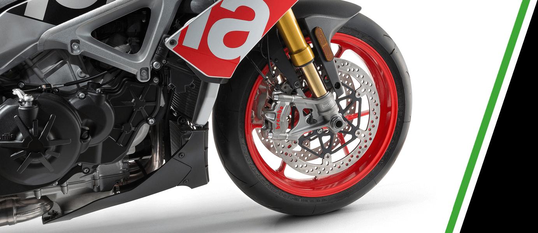 Moto suspensión V4 Factory