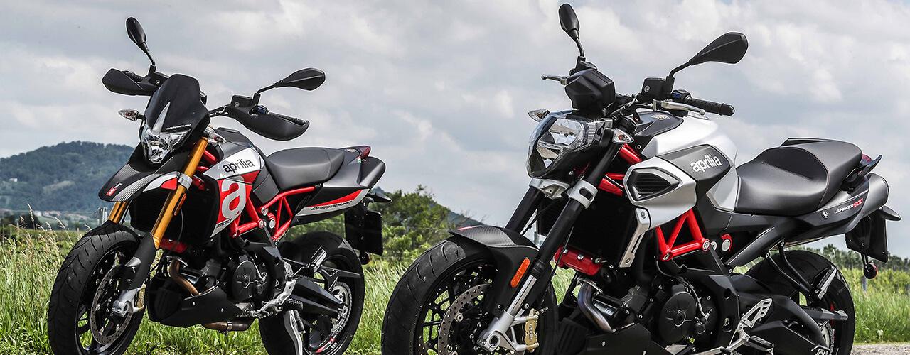 Modelos de motos Dorsoduro