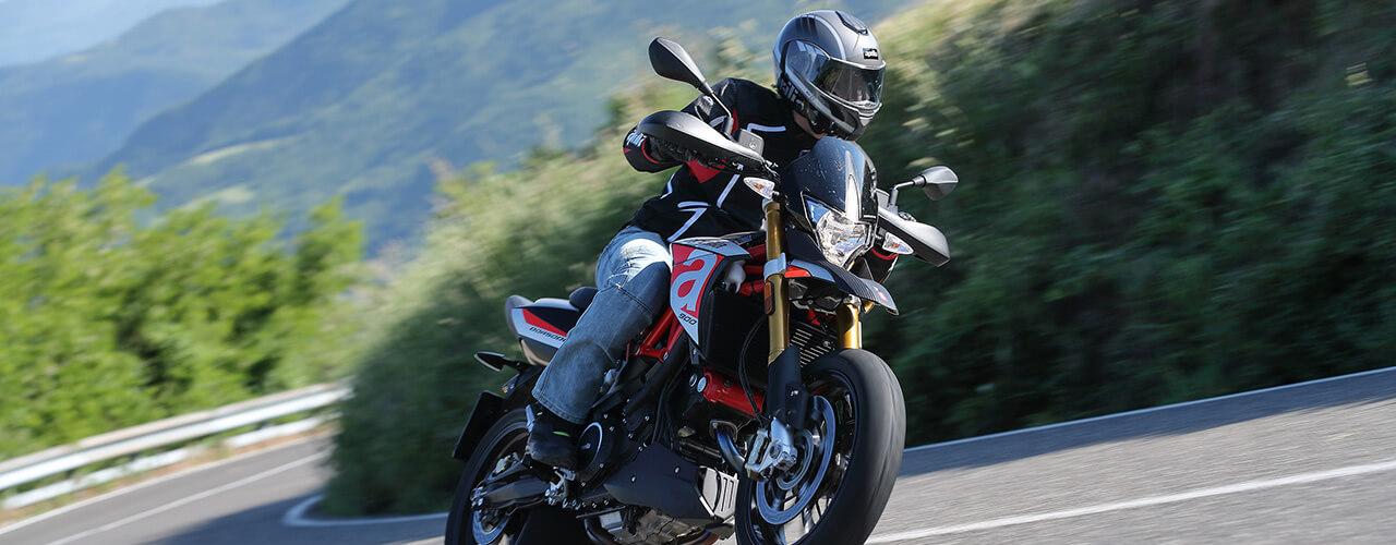 Dorsoduro motos de pista